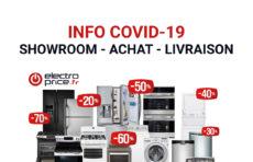 Info Covid19 : notre service de livraison est opérationnel !